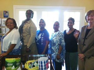 Neches Federal Credit Union donated professional attire, shoes, belts, purses, scarves and monthly pocket calendars.
