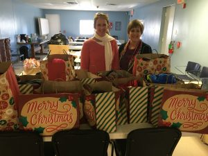 Westgate Church of Christ donation to Family Services of Southeast Texas